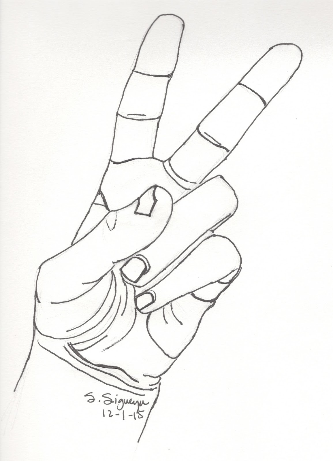 1155x1600 How To Draw Peace Hand Drawn Peace Sign Hand Drawing