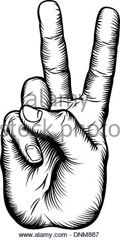 235x470 Woodcut Vintage Style Hand Pointing A Finger