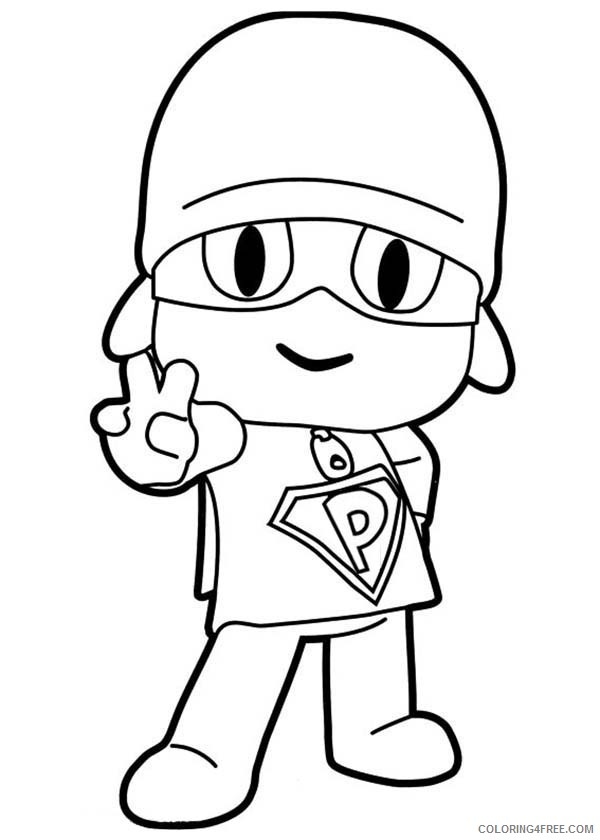 600x840 V Hand Peace Sign Coloring Pages Coloring4free