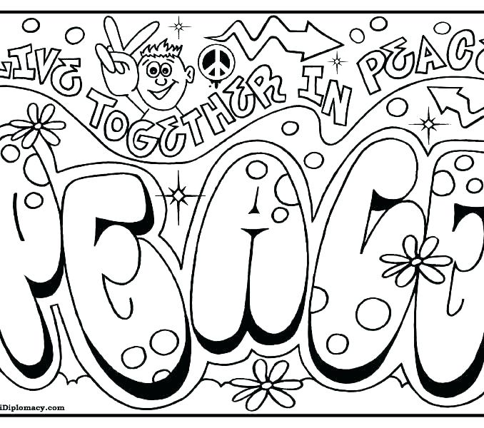 678x600 Peace Coloring Page Peace Coloring Pages Peace Sign Coloring Pages