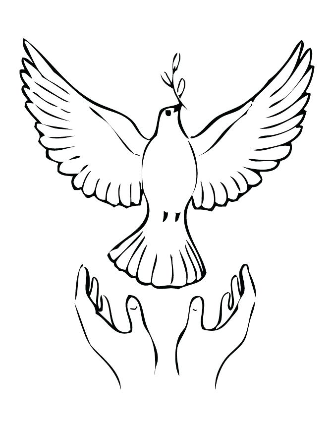 670x867 Printable Peace Sign Coloring Pages Peace Symbol Coloring Page