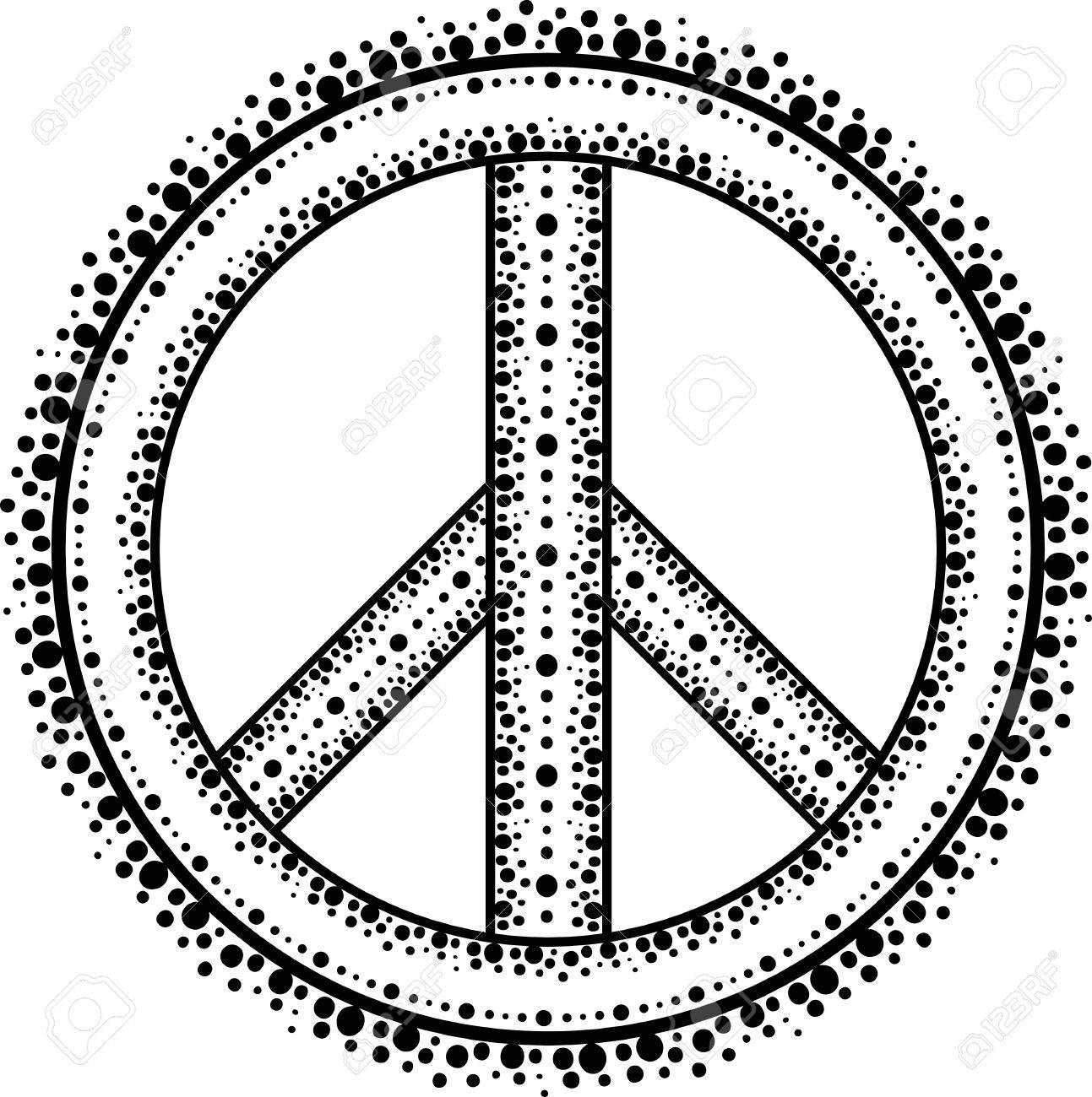 Peace Sign Template Images - Template Design Ideas