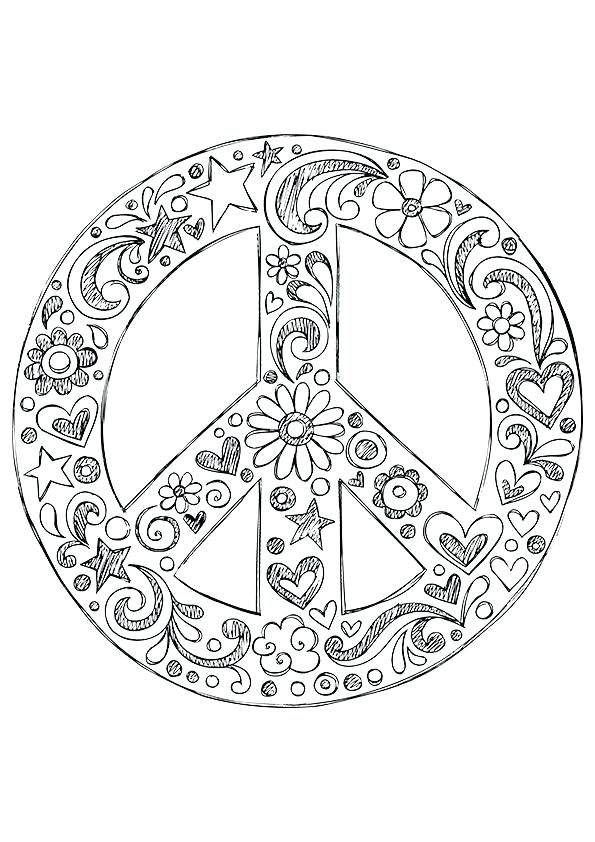595x842 Peace Coloring Page Peace Coloring Pages Coloring Pages Printable