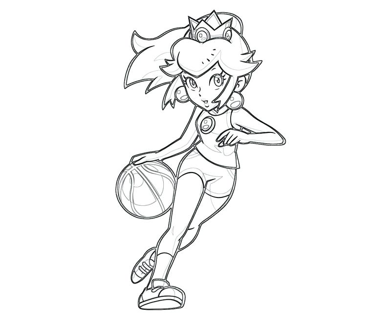 800x667 Peach Coloring Page Princess Peach Coloring Pages Online For Kid