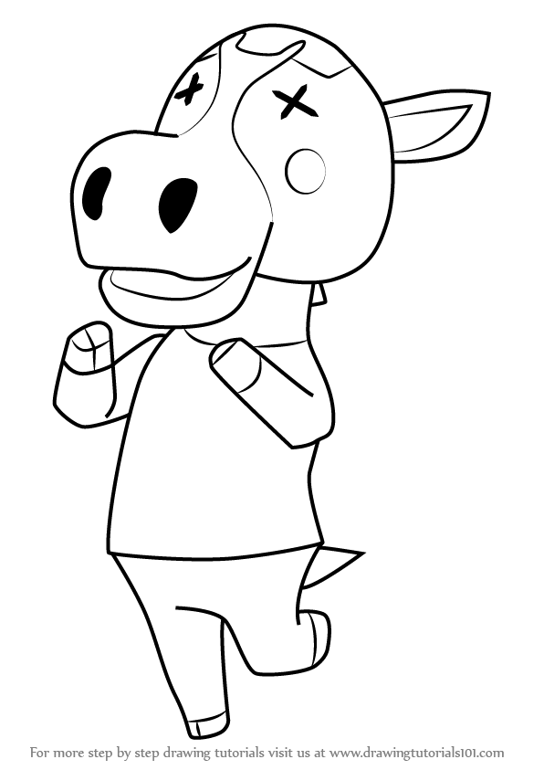 596x843 Learn How To Draw Peaches From Animal Crossing (Animal Crossing