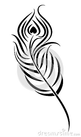 266x450 Peacock Feather Clipart