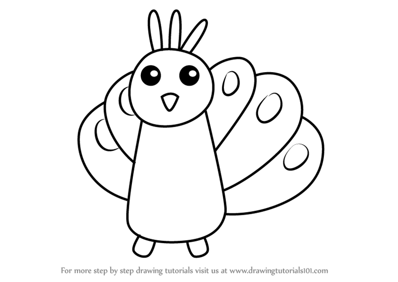 Peacock Drawing For Kids at GetDrawings com | Free for personal use