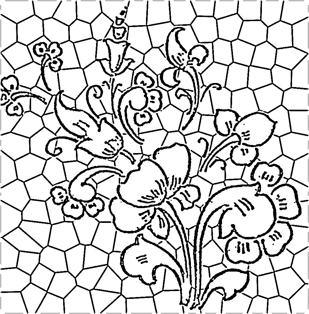 984x999 45 Simple Stained Glass Patterns Guide