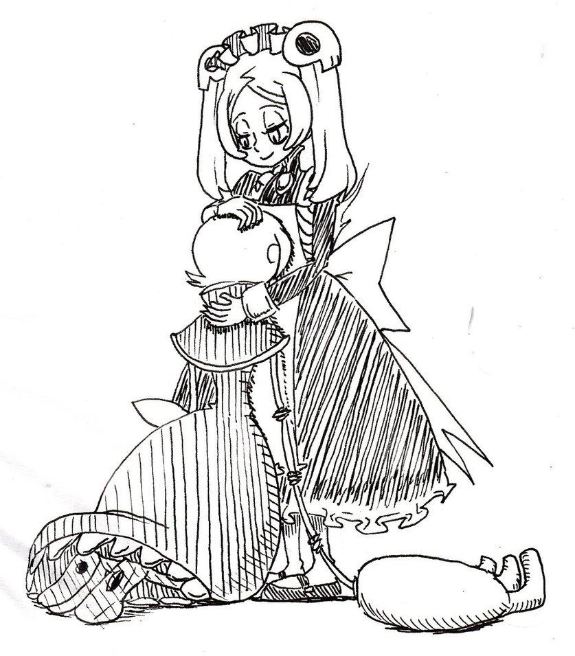 837x955 Marie Holds Peacock By Kuroirozuki