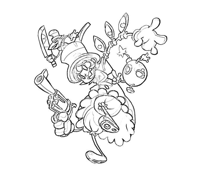 800x667 Skullgirls Peacock Sketch Mario