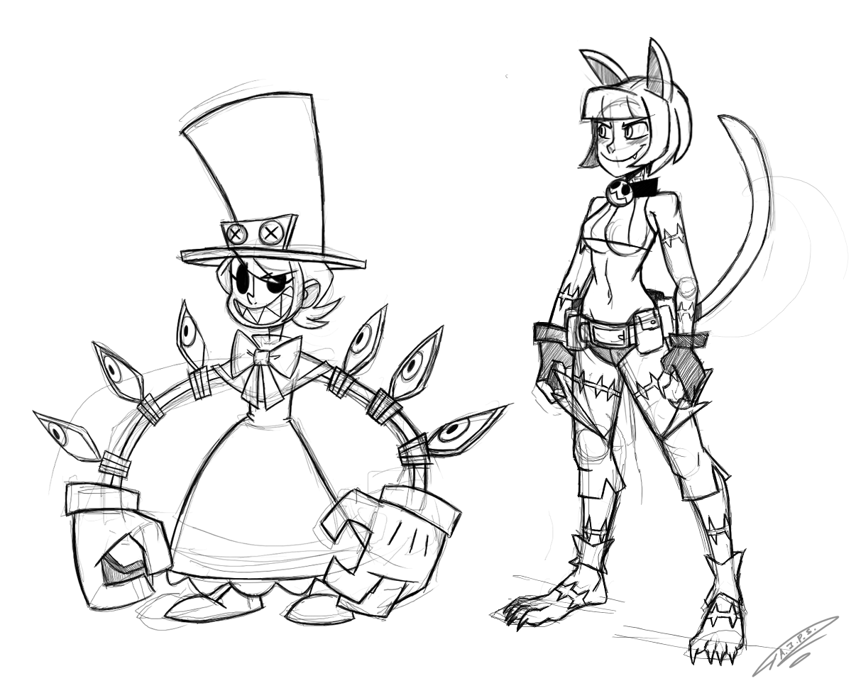 1206x977 That Place To Hang Out Fanart Sketches Of Peacock And Ms. Fortune