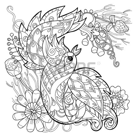 450x450 242 Fan Peacock Cliparts, Stock Vector And Royalty Free Fan