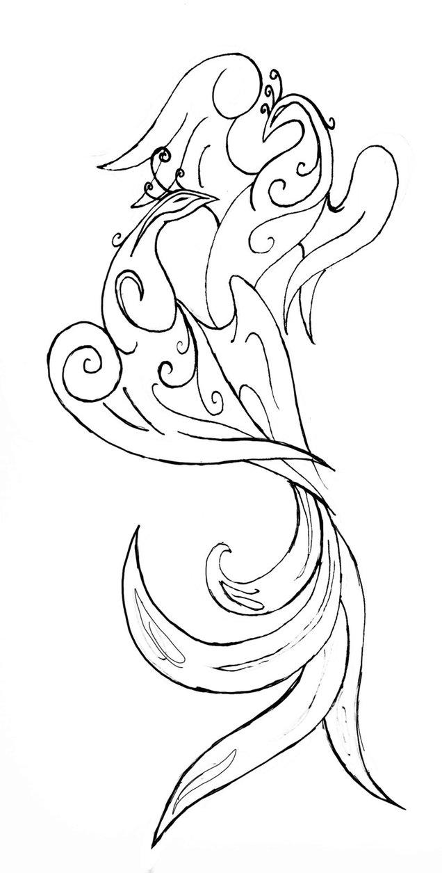 636x1255 Peacock Tattoo By Kymerabjd