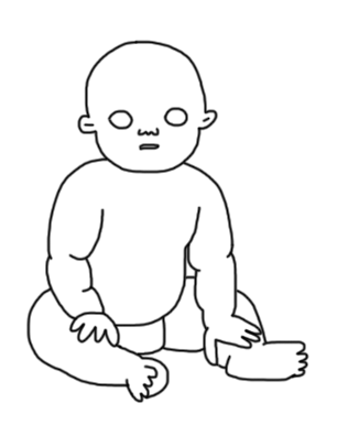 306x386 Ellie Sunakawa On Twitter @dreamybeam Is That Peanut Butter Baby