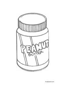 228x295 Peanut Butter Worksheet For Pre K Lesson Planet