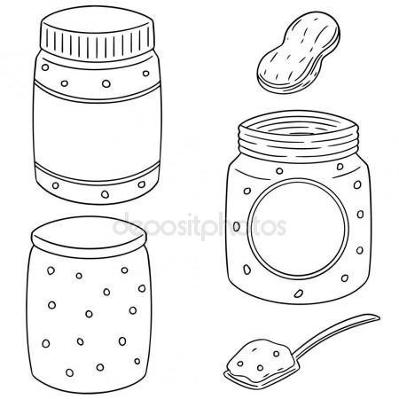 450x450 Peanut Butter Jar Stock Vectors, Royalty Free Peanut Butter Jar