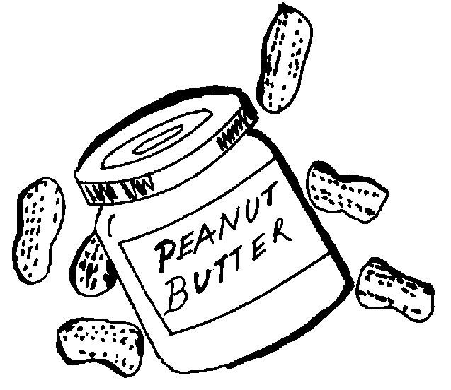 637x552 Peanut Butter Cookies