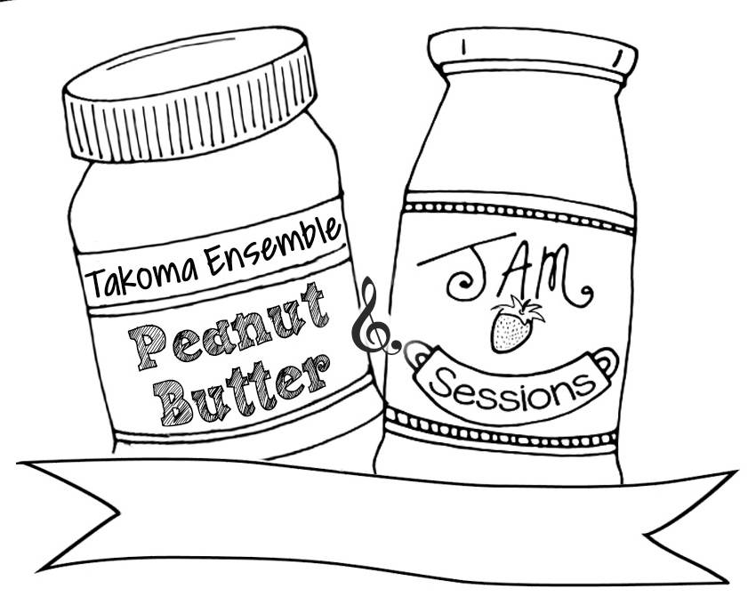 850x671 Takoma Ensemble Takoma Ensemble Peanut Butter Amp Jam Session