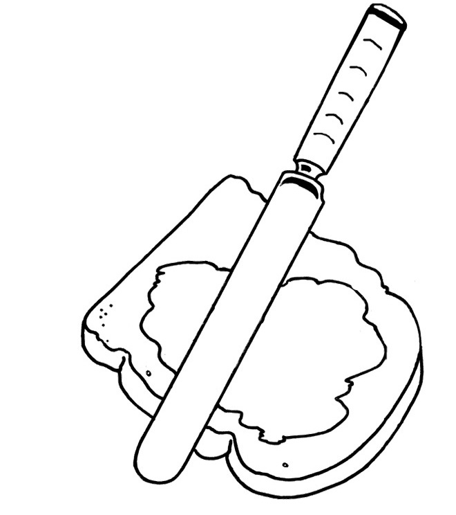 660x744 Peanut Butter Coloring Pages
