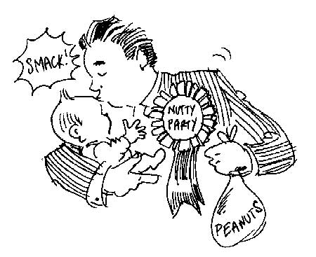 450x367 Kissing Babies Can Trigger Peanut Allergy