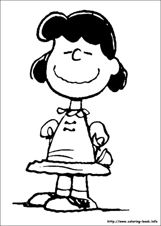 567x794 Simple Peanuts Coloring Pages Snoopy On Book Info