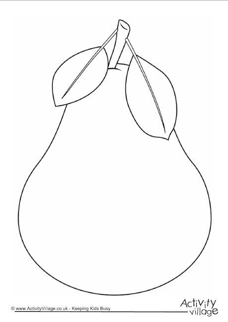 460x651 Pear Template Thanksgiving 2016 Pear, Template