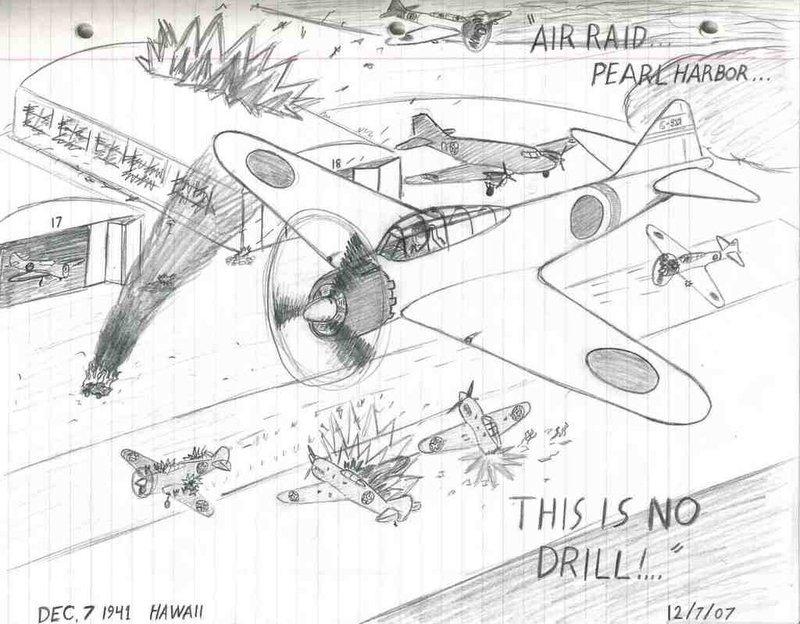 800x624 Air Raid Pearl Harbor' By Leewaffe3