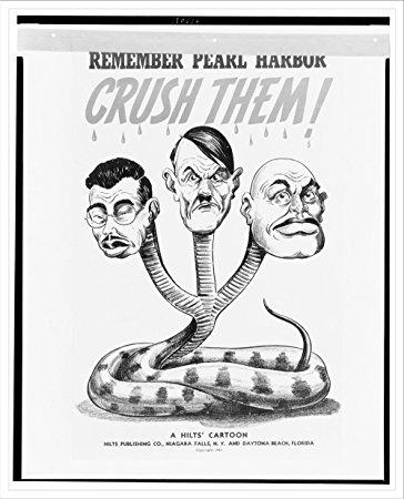 364x450 Historic Print (L) Remember Pearl Harbor Crush Them