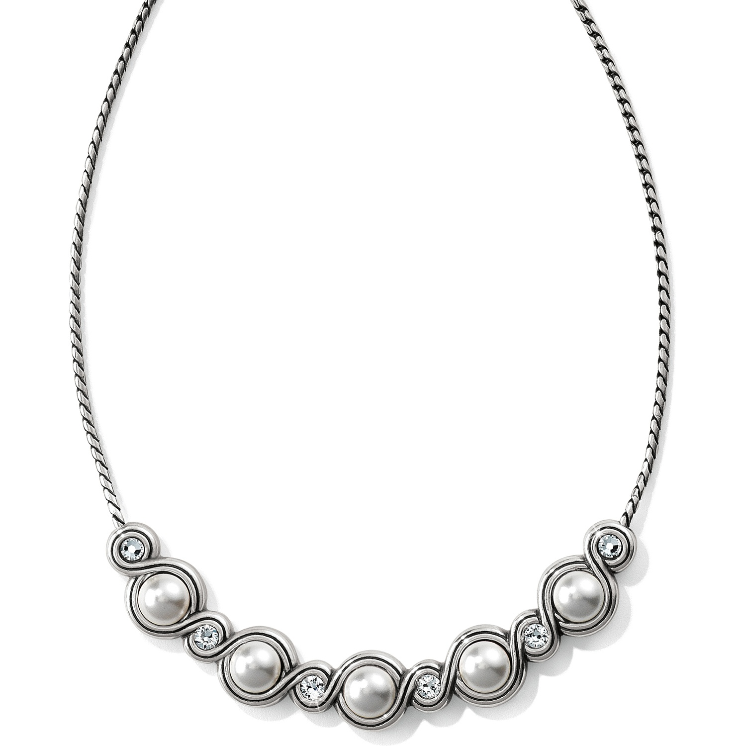 1500x1500 Infinity Sparkle Infinity Pearl Necklace Necklaces