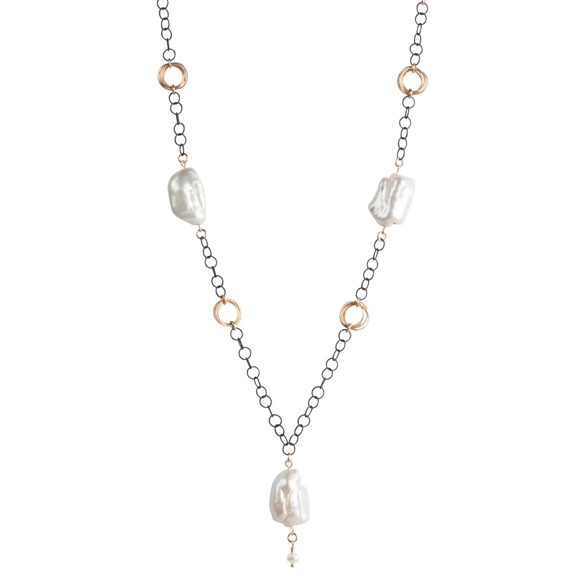 1200x1200 Baroque Pearl Necklace
