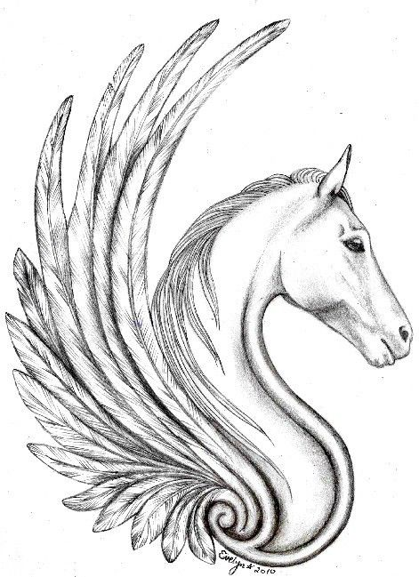 471x649 Famous Pegasus Tattoo Designs