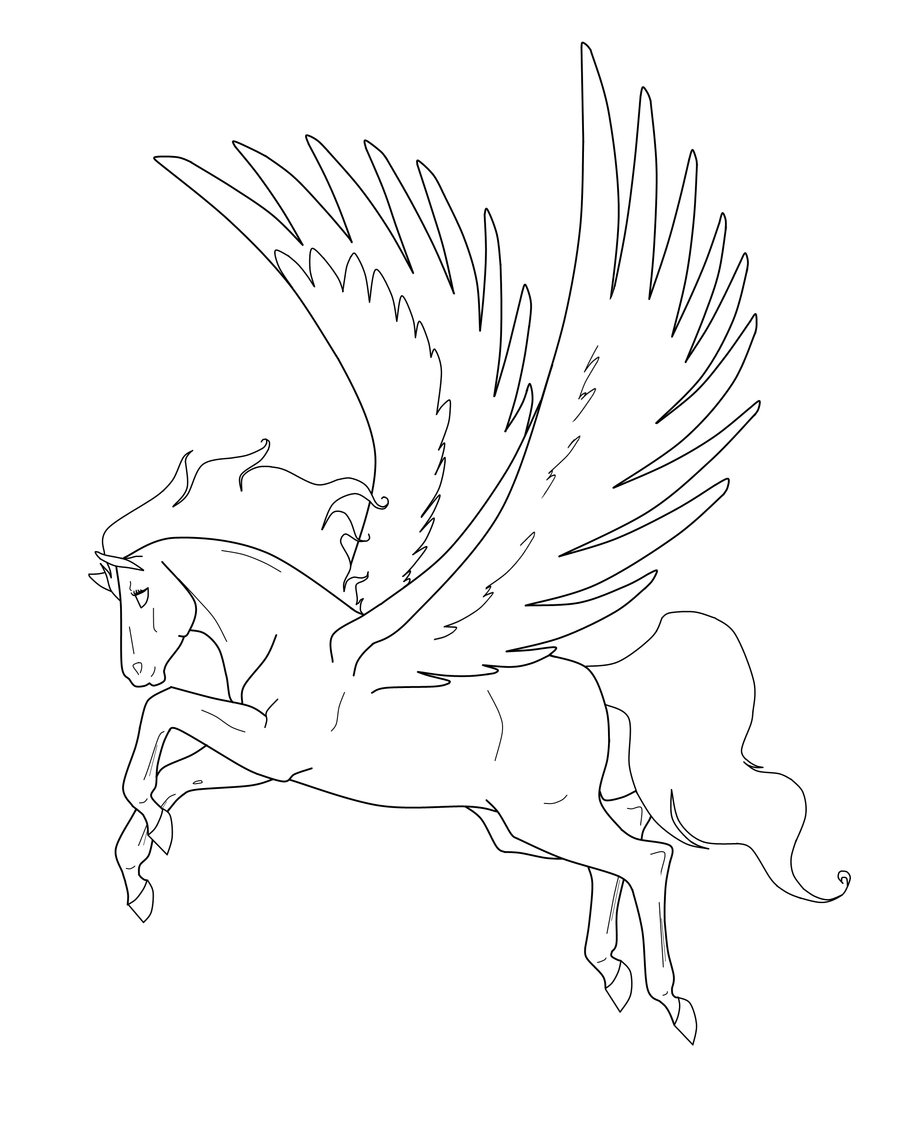 900x1130 Pegasus Mare Lines. By On @
