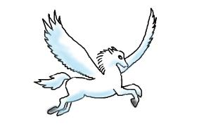 300x200 How To Draw A Pegasus