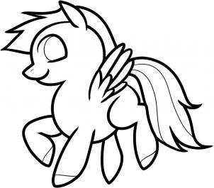 302x265 How To Draw How To Draw Pegasus For Kids