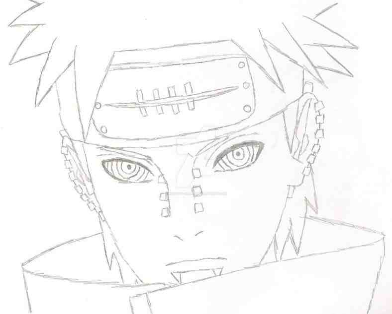 788x633 Naruto Pain Drawing Drinkeats.club