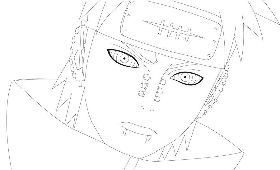900x546 Pain Lineart 1 By Airoart