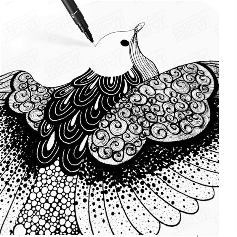 Pen And Ink Animal Drawing