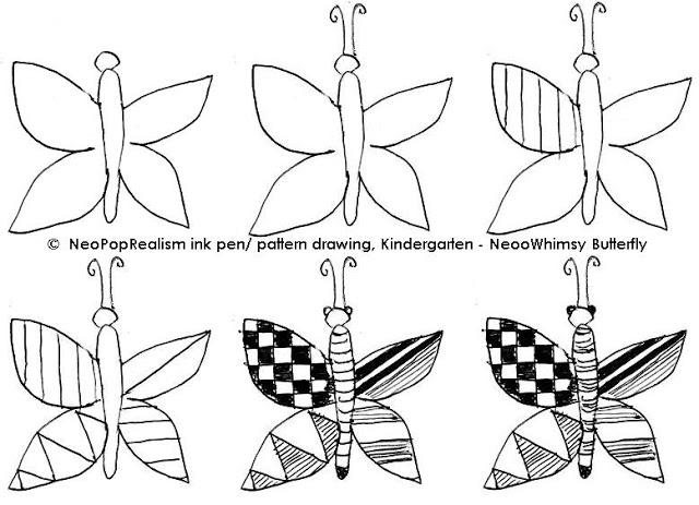 640x463 Kindergarten Art Neopoprealism Ink Pen Pattern Drawing Ink Pen