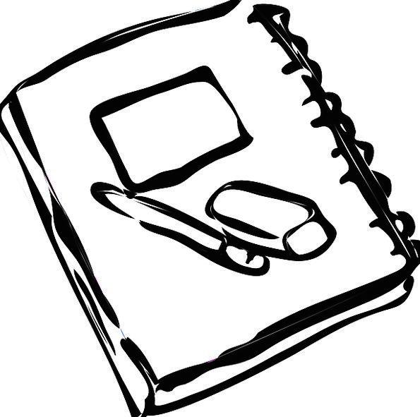 595x591 Note Book, Newspaper, Pen, Coop, Paper, White, Rubber, Neoprene