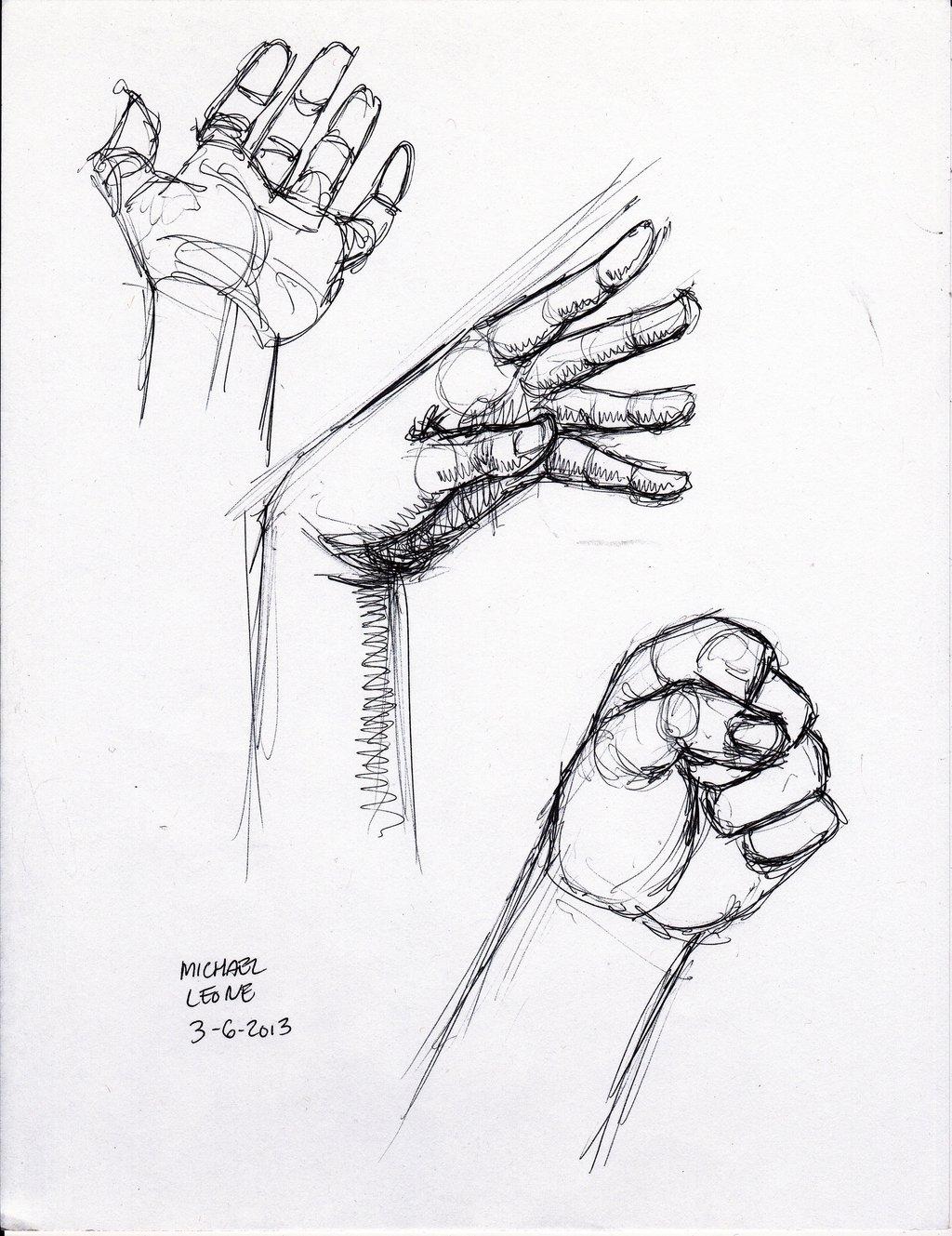1024x1329 Hand Pen Sketch 3 6 2013 By Myconius