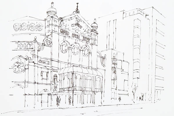 600x400 Part 1 Pen And Wash Masterclass