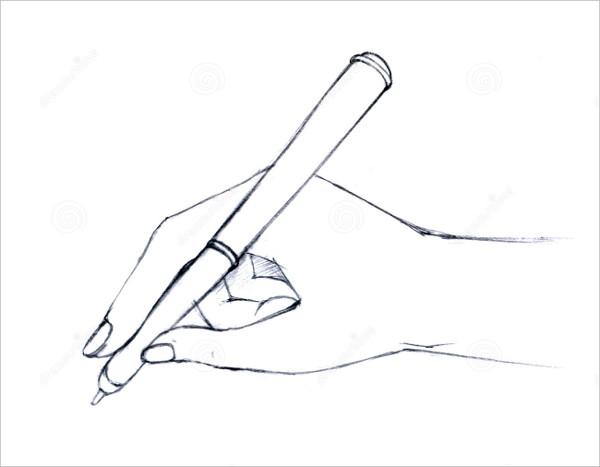 600x467 Hand Drawings Free Amp Premium Templates