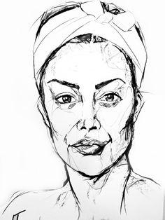 236x314 Irl No. 1 Ink Drawing By Somaramos