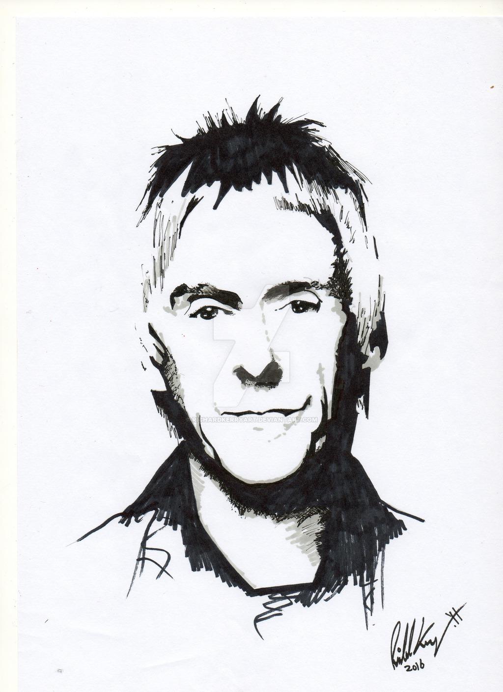 1024x1409 Pen Portrait Paul Weller By Richardkerryart