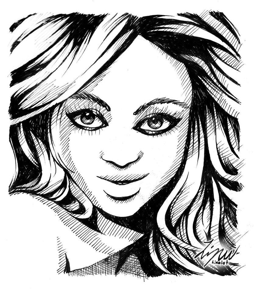 834x957 Pen Portrait By Lizalot