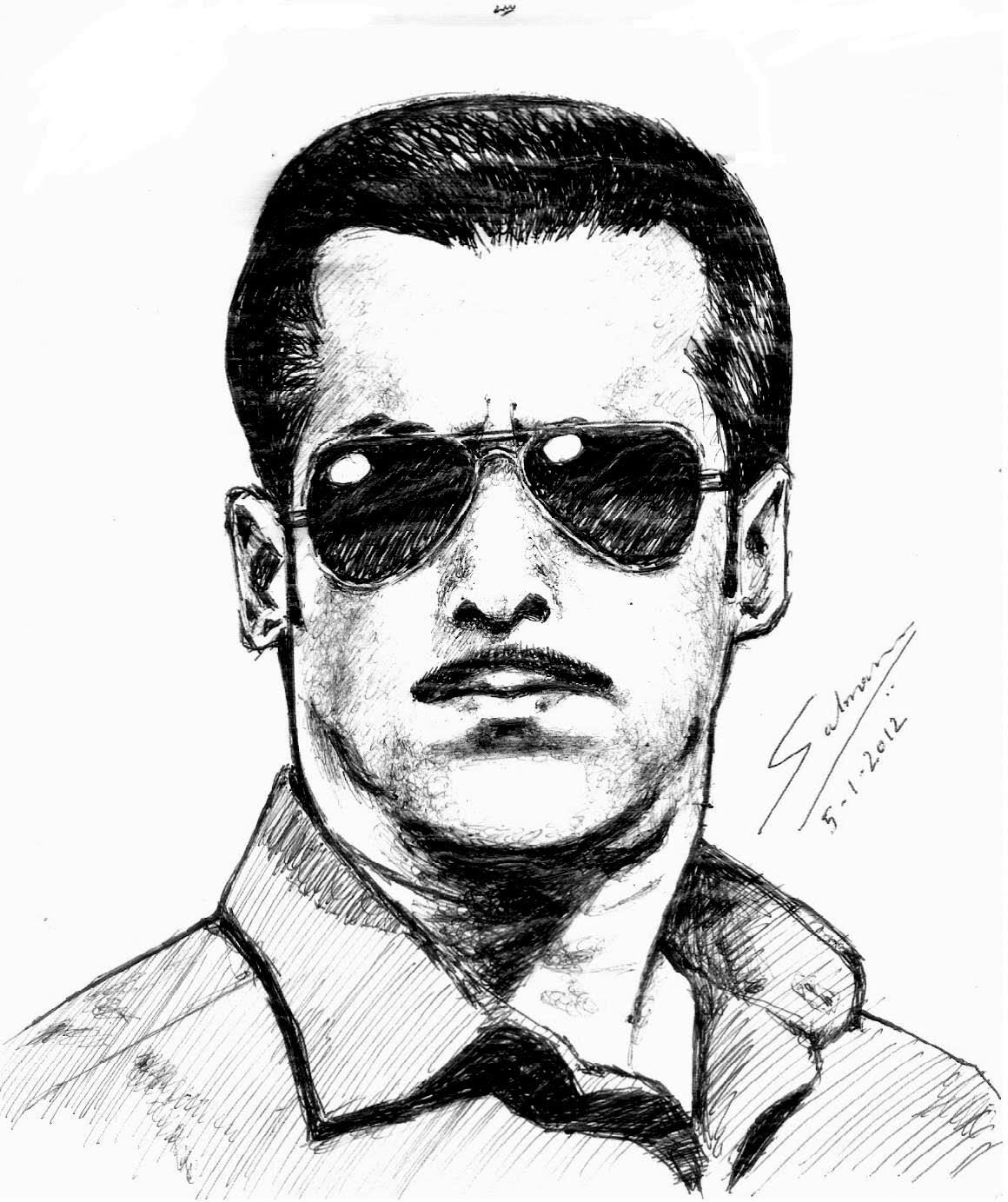1160x1383 Speed Art Salman Khan (Dabanng)