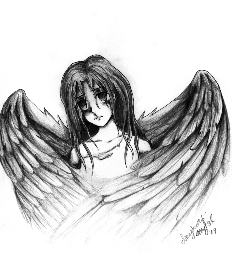 28 Angel Drawings Free Drawings Download: The Best Free Fallen Drawing Images. Download From 370