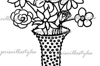 378x252 5 Flower Pot Design Drawing, Simple Flower Pots Drawing Best
