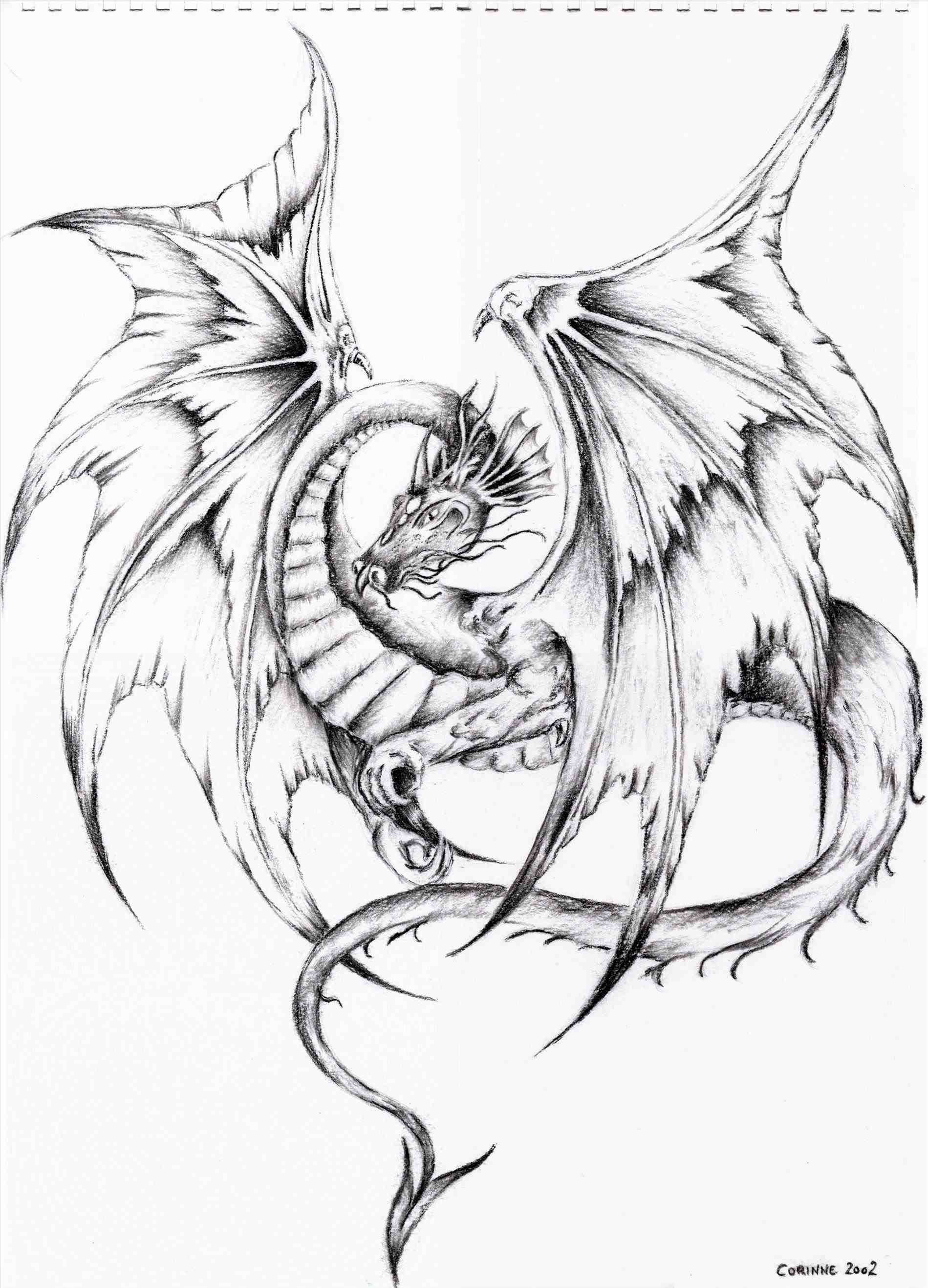 1899x2635 The Images Collection Of Easy Draw Drawn Simple Dragon Drawing