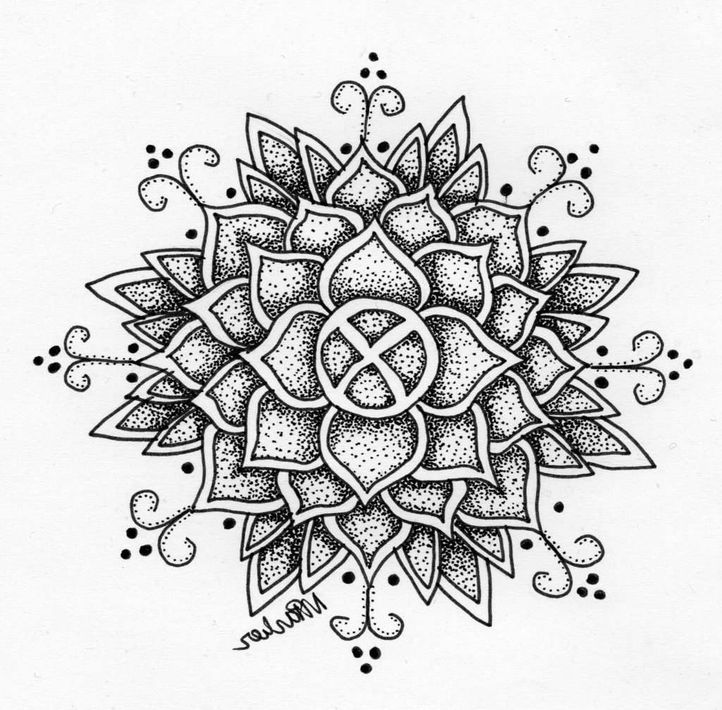 1024x1007 Pencil Drawing Of Abstract Flowers Pencil Drawing Of Abstract